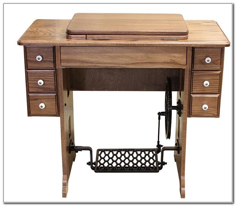 Amish Treadle Sewing Machine Cabinet
