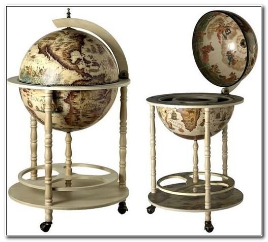 Ancient World Globe Drinks Cabinet