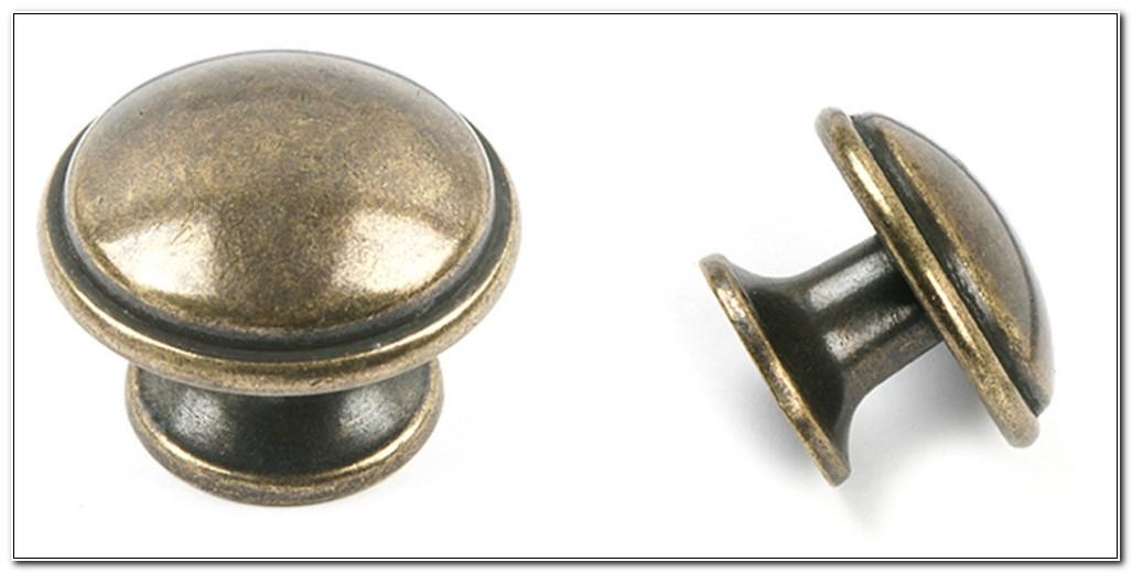Antique Brass Kitchen Cupboard Door Handles