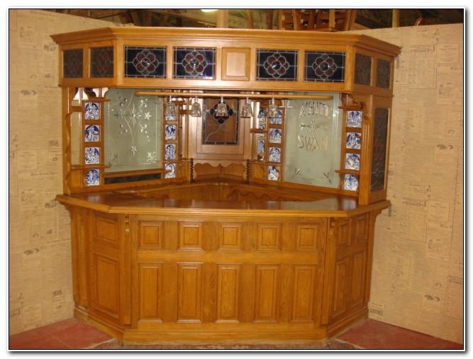 Antique Liquor Cabinet Bar