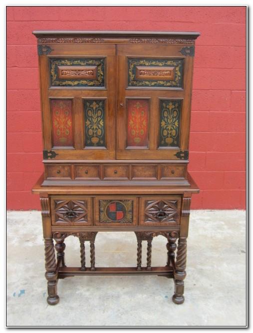 Antique Liquor Cabinet Furniture