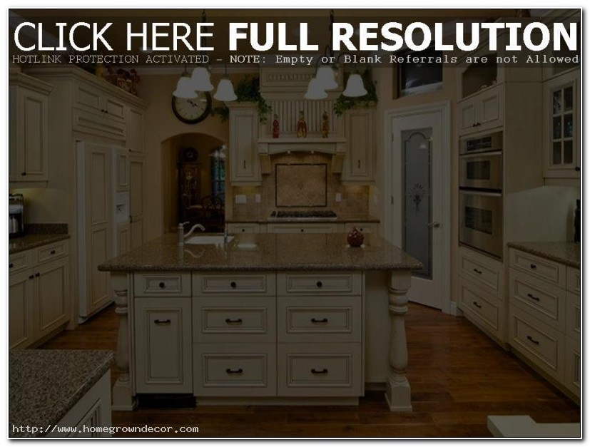 Antique Look Painting Kitchen Cabinets