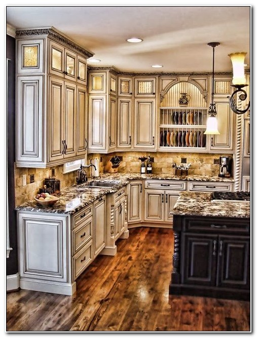 Antique Painting Kitchen Cabinets
