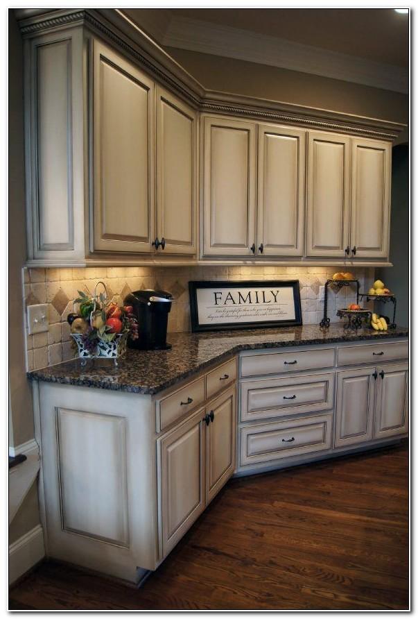 Antique Off White Kitchen Cabinets Cabinet Home Design Ideas Bqk9abwklx