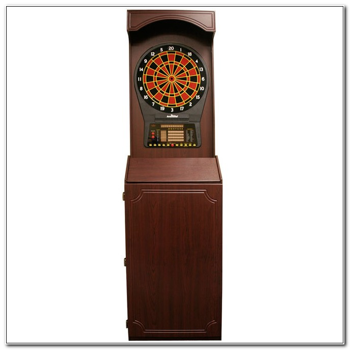 Arachnid Electronic Dartboard With Cabinet