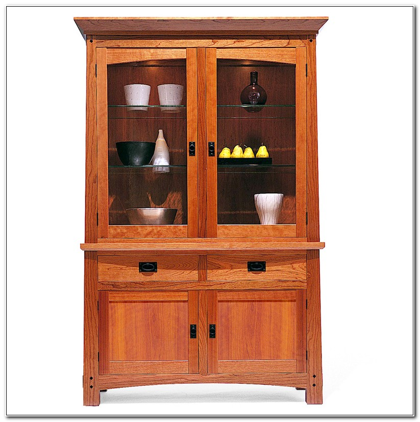 Arts And Crafts China Cabinets