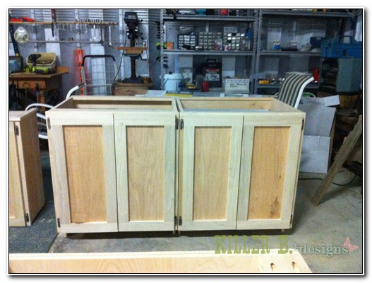 Assemble Your Own Cabinets