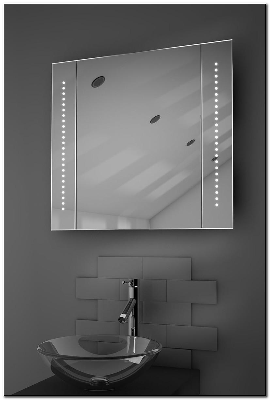 Astound Led Illuminated Bathroom Mirror Cabinet