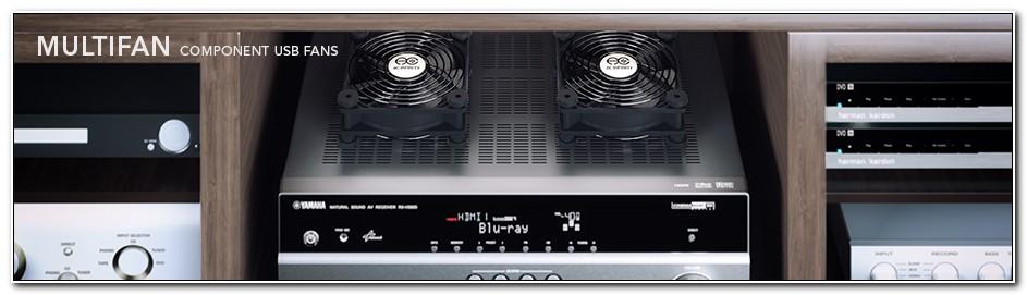 Av Cooling Fan For Entertainment Cabinet
