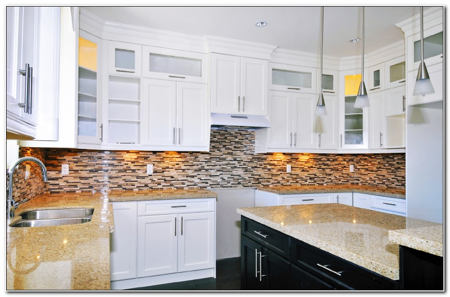 Backsplashes For White Kitchen Cabinets