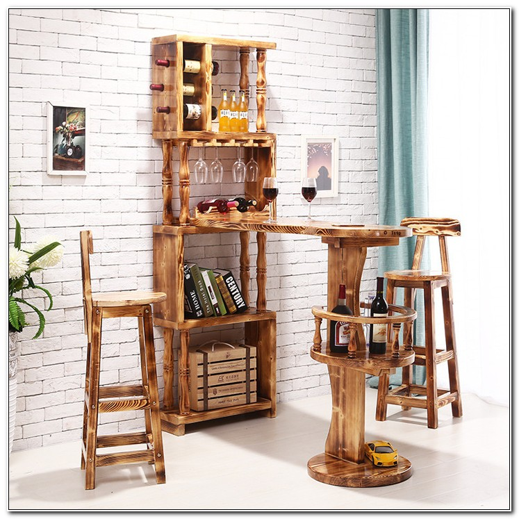 Bar Wine Rack Cabinet