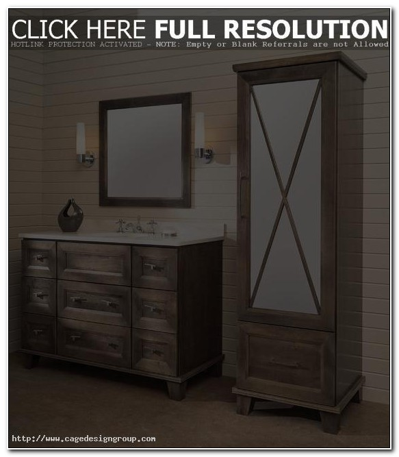 Bath Vanities With Matching Linen Cabinets