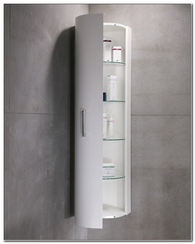Bathroom Corner Shelf Cabinet