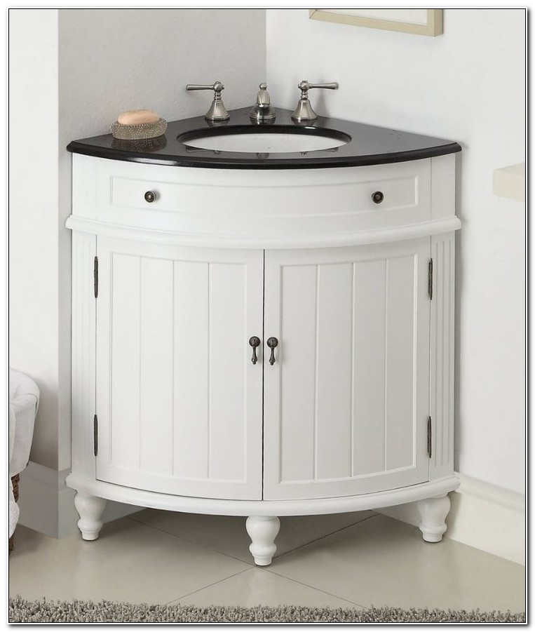 Bathroom Corner Sink Base Cabinet