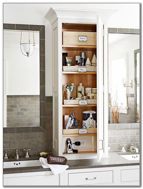 Bathroom Counter Storage Cabinets