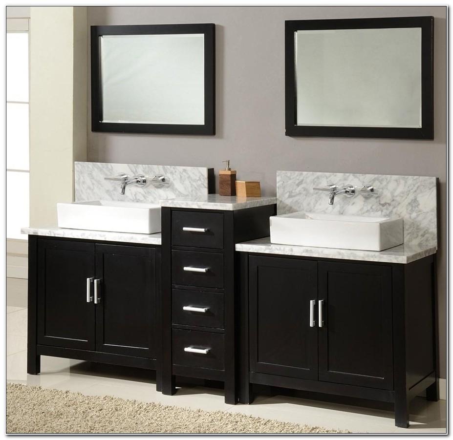 Bathroom Double Sink Vanities Home Depot