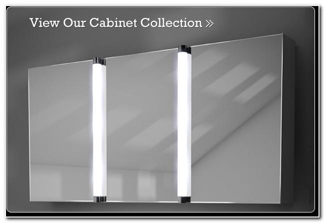 Bathroom Illuminated Mirror Cabinets