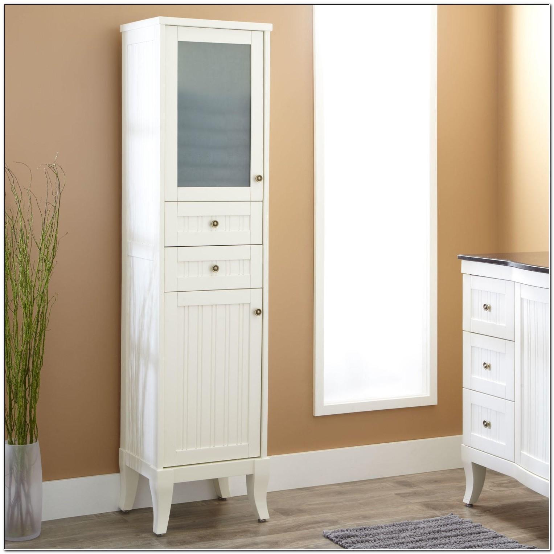 Bathroom Linen Cabinets White