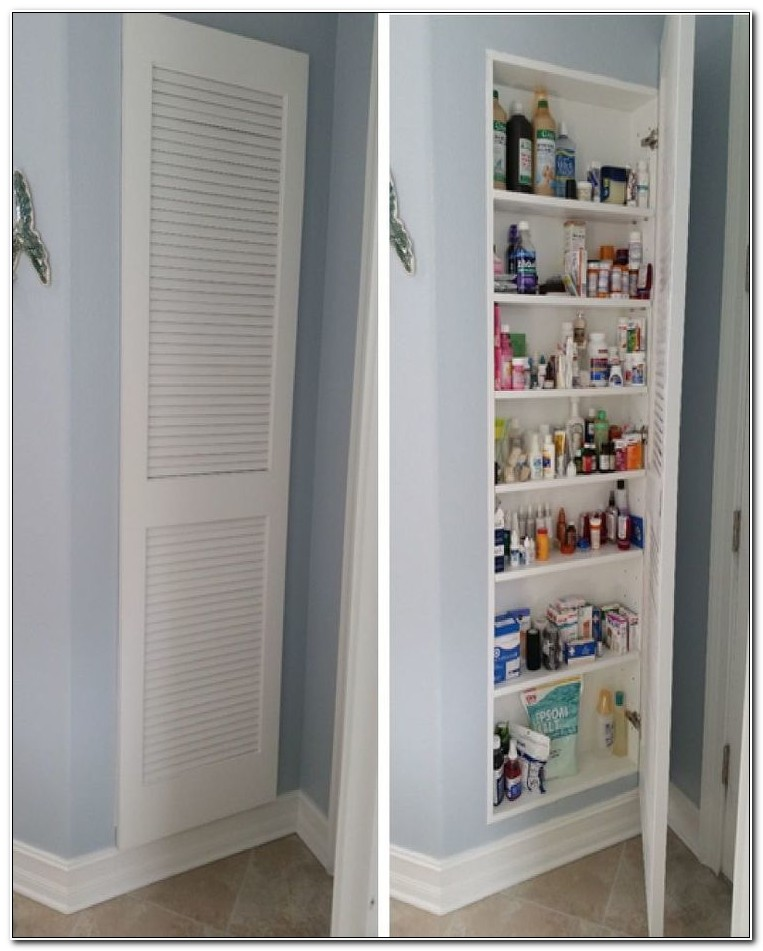 Bathroom Medicine Cabinet Storage Ideas