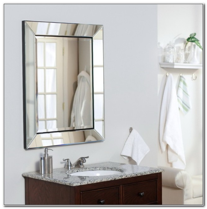 Bathroom Medicine Cabinets With Mirrors Recessed