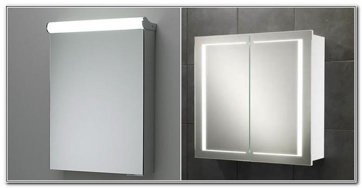 Bathroom Mirror Cabinet Light