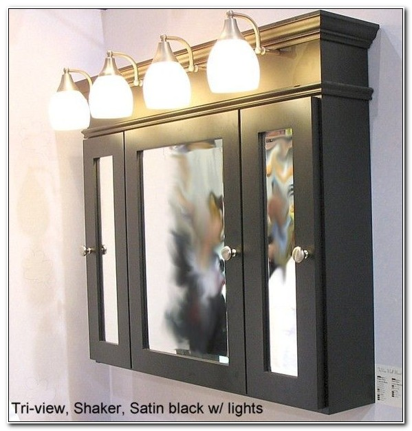 Bathroom Mirror Medicine Cabinets With Lights