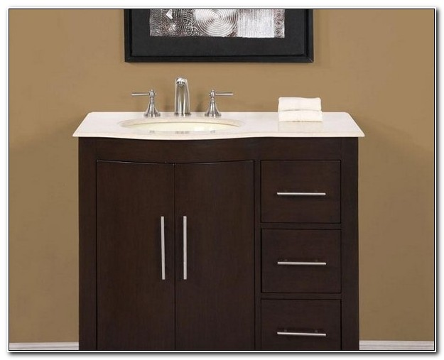 Bathroom Sinks And Cabinets At Home Depot