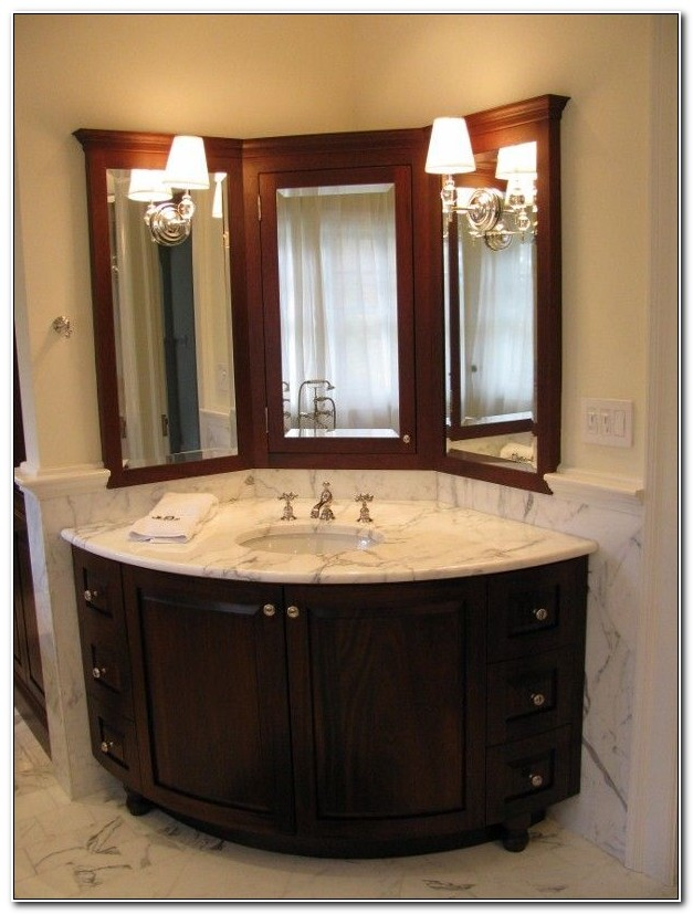 Bathroom Vanity Corner Cabinet