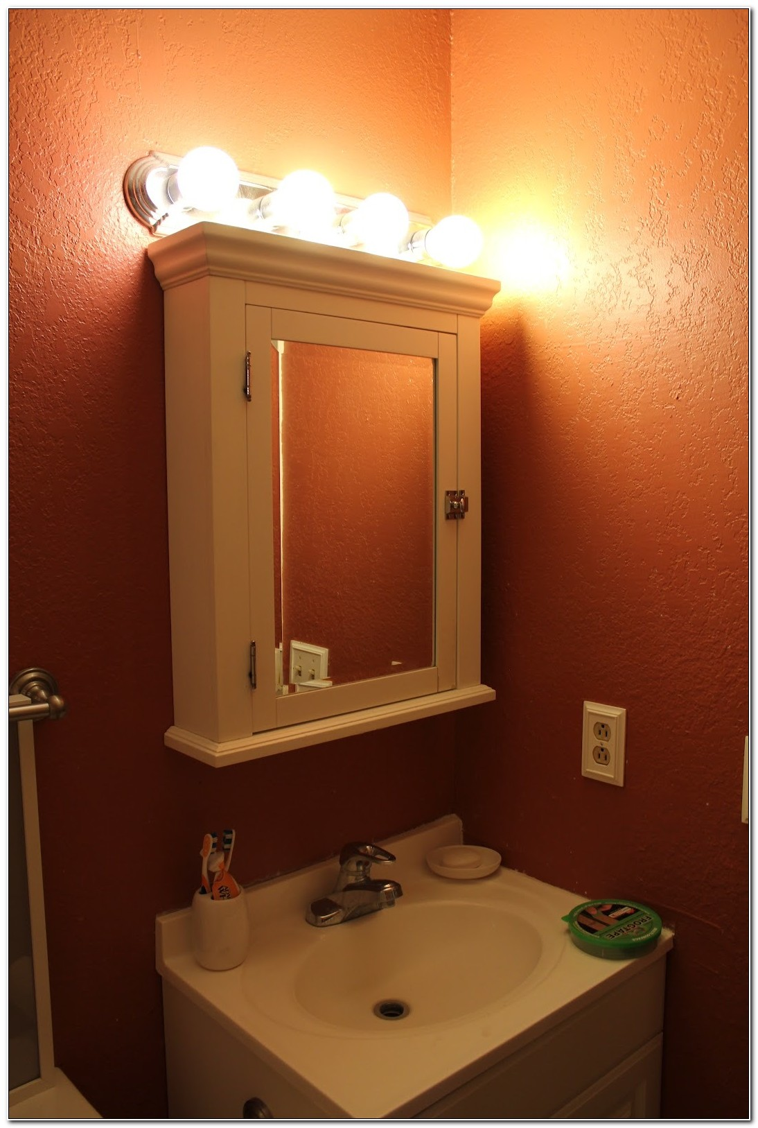 Bathroom Vanity Lights Over Medicine Cabinet
