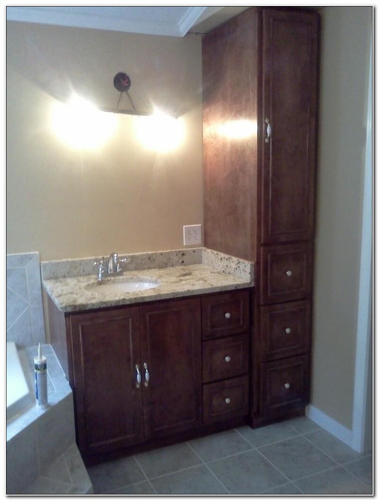 Bathroom Vanity Linen Cabinet Combo