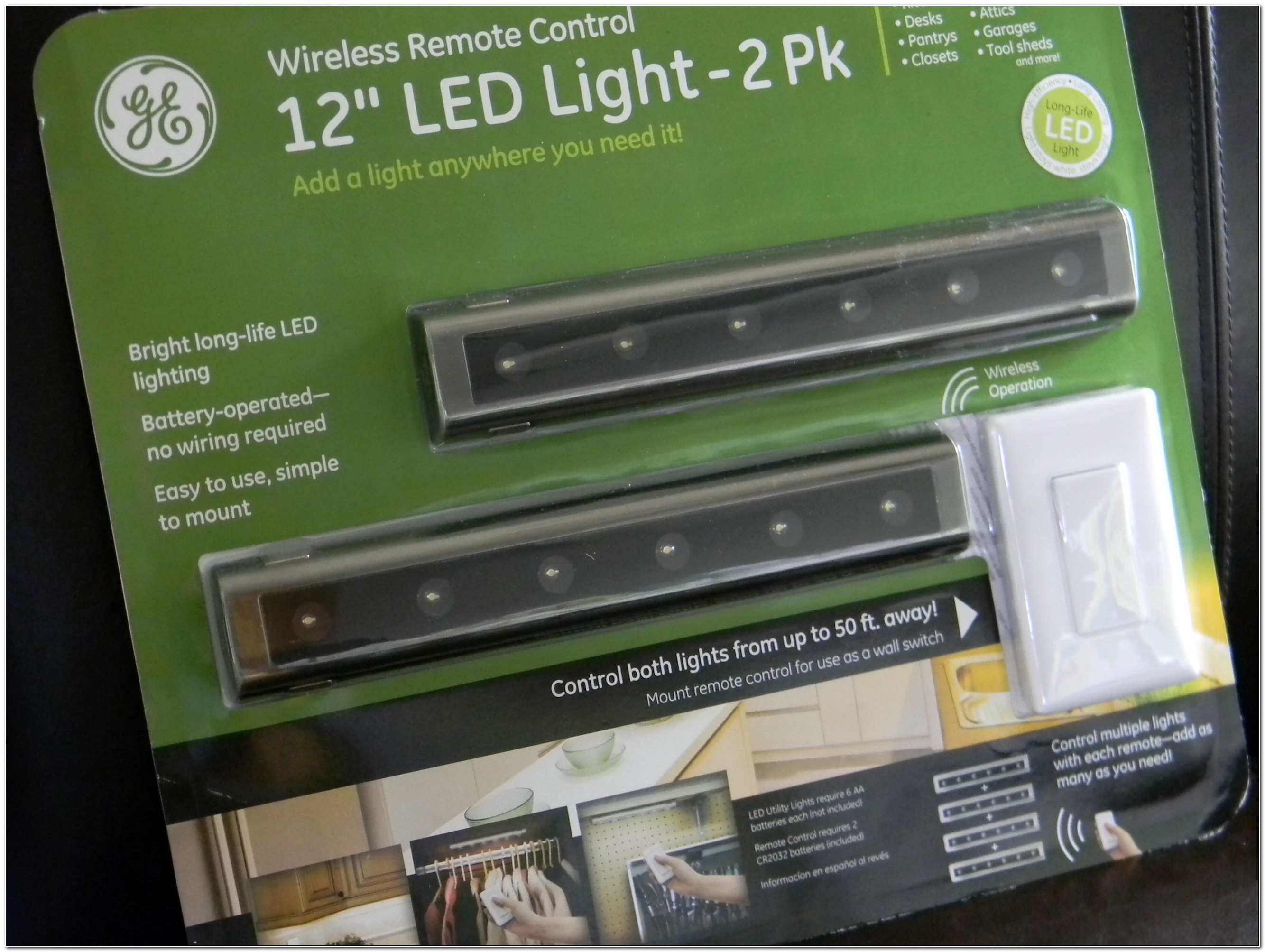 Battery Operated Under Cabinet Lighting