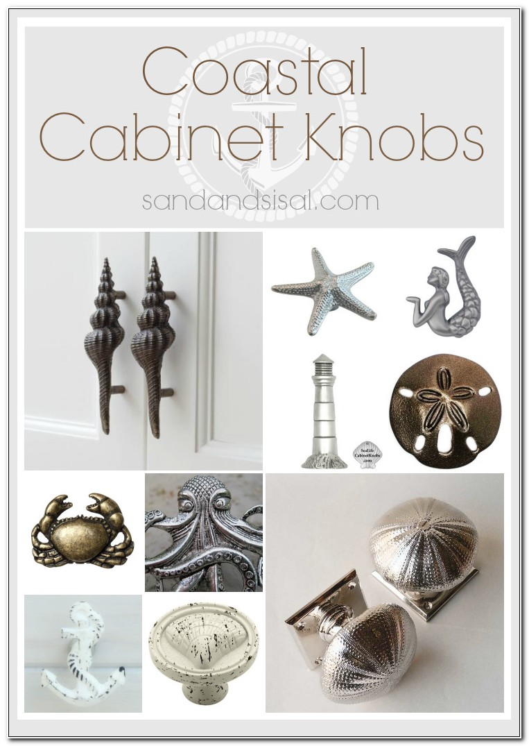 Beach Themed Cabinet Knobs And Pulls