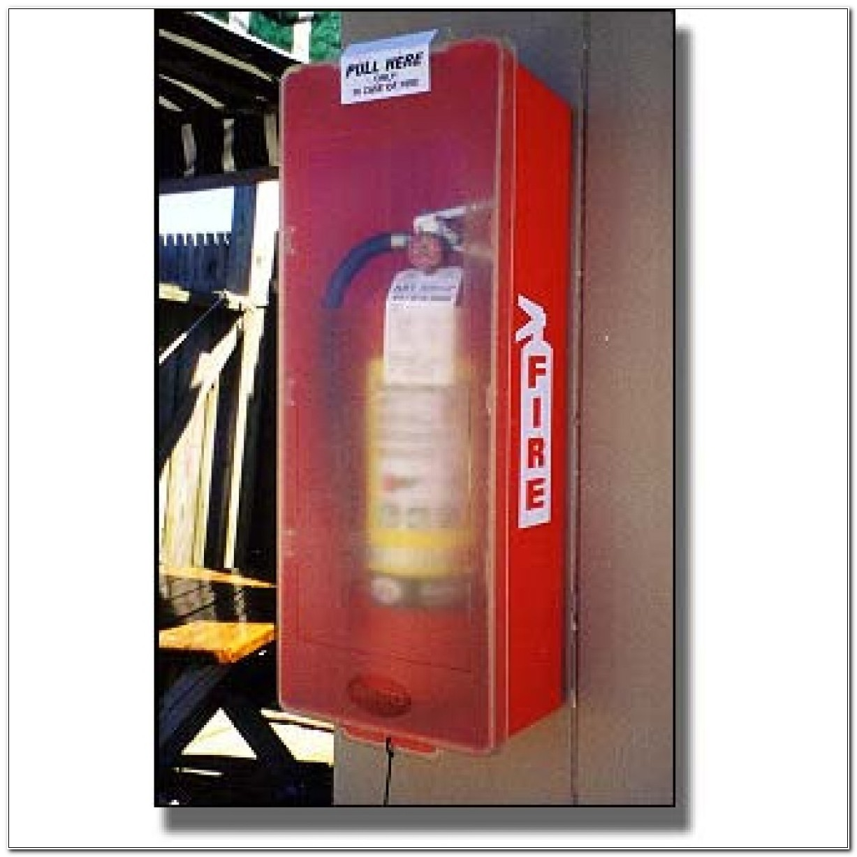 Beco Plastic Fire Extinguisher Cabinets