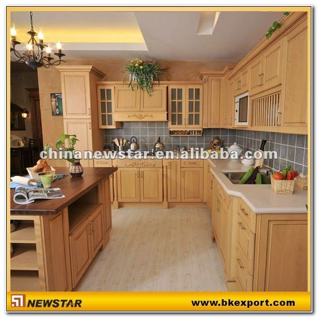 Beech Wood Kitchen Cabinet Suppliers