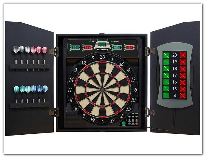 Best Electronic Dart Board With Cabinet