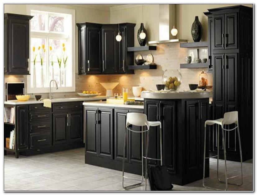 Best Paint For Kitchen Cabinets Black
