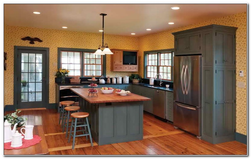 Best Paint For Kitchen Cabinets Oak