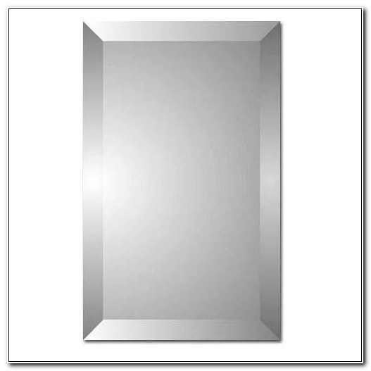 Beveled Mirror Medicine Cabinet Recessed