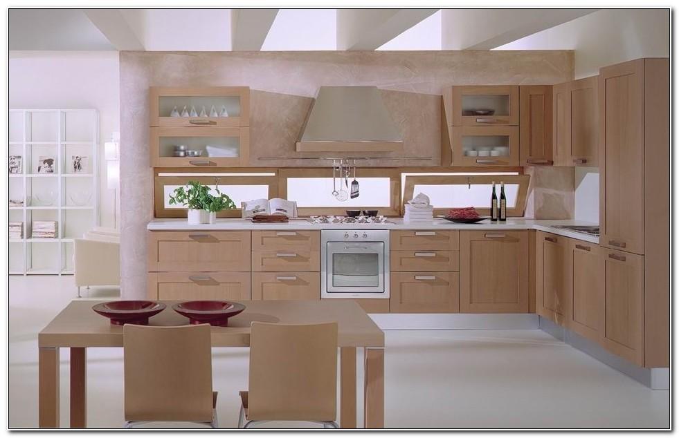 Birch Veneer Kitchen Cabinet Doors