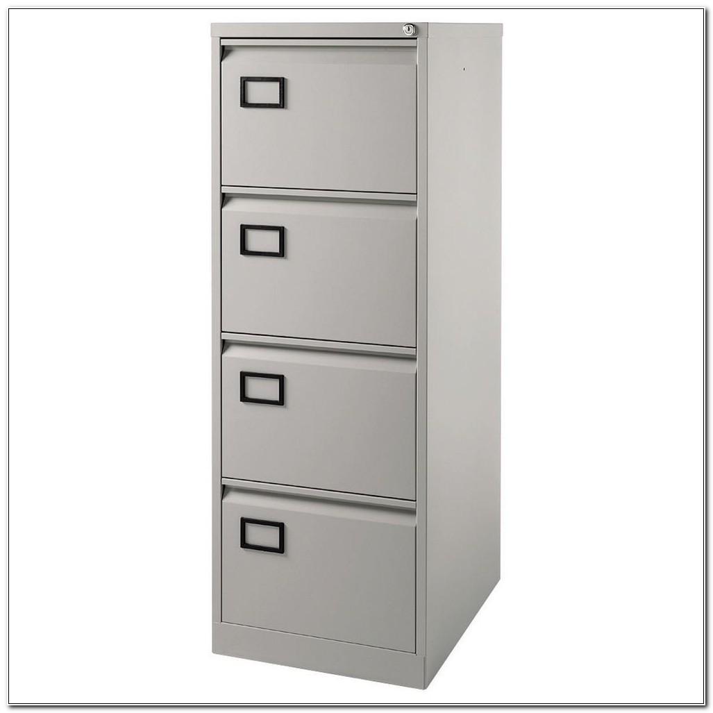 Bisley 4 Drawer Filing Cabinet Staples