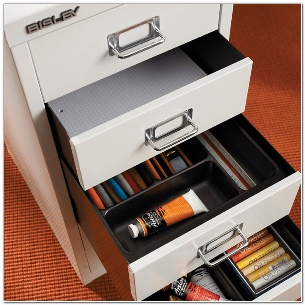 Bisley 5 Drawer Desktop Multi Drawer Cabinet