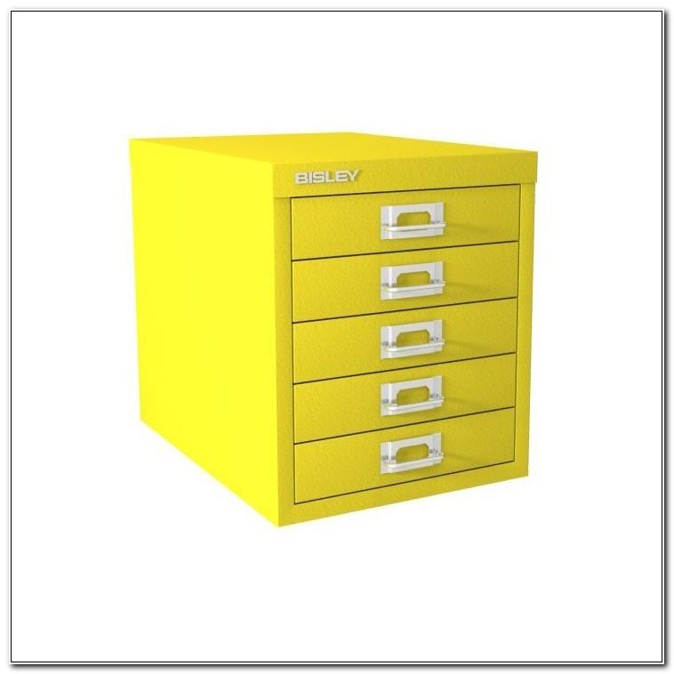 Bisley 5 Drawer Filing Cabinet