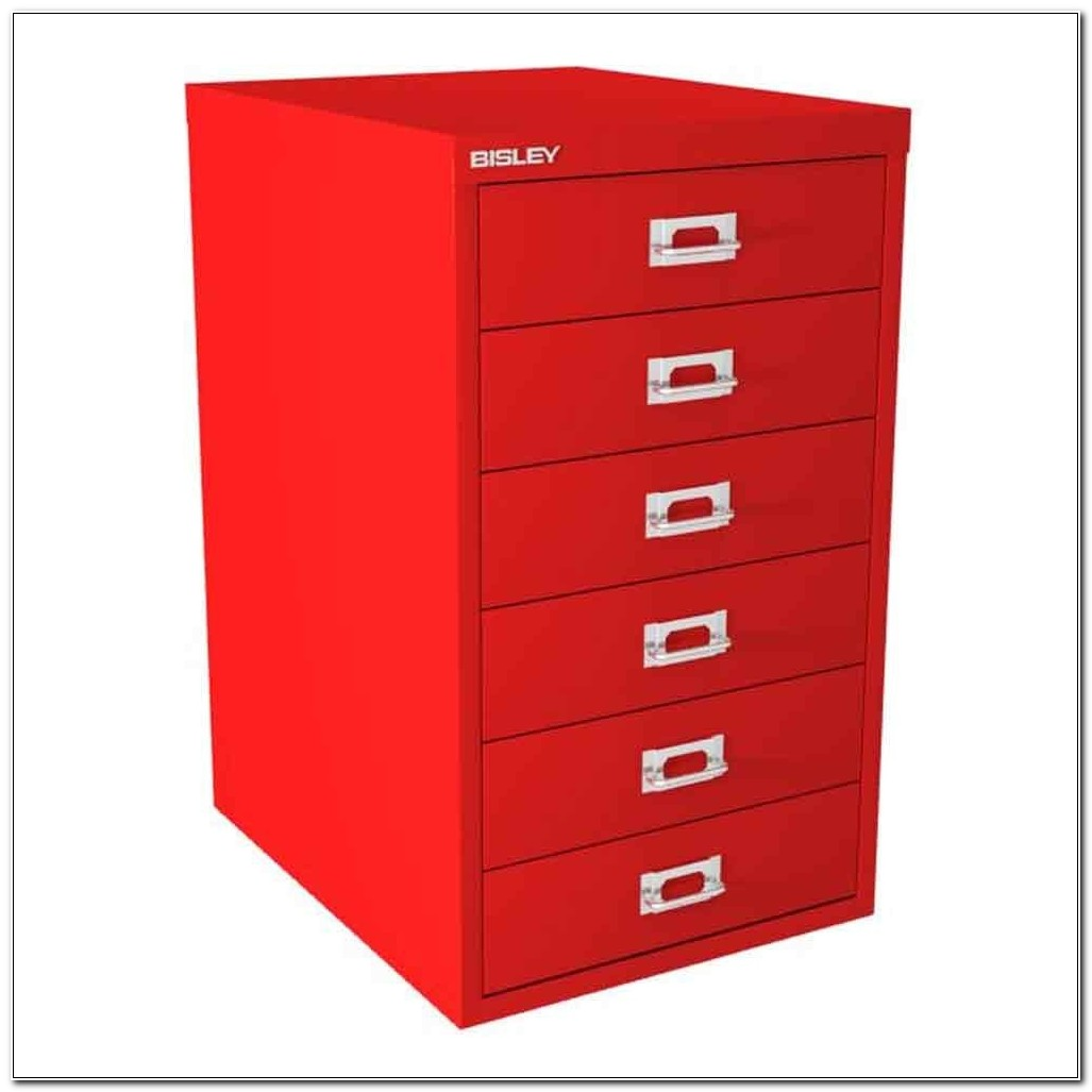 Bisley 6 Drawer Filing Cabinet