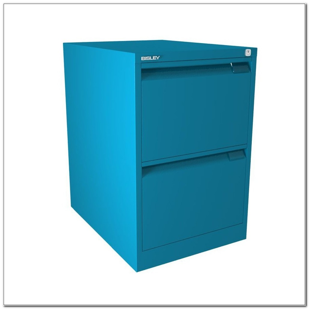 Bisley Filing Cabinet 2 Drawer