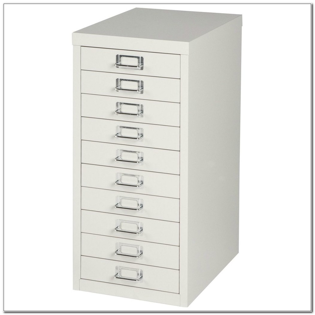 Bisley Steel Multi Drawer Storage Cabinets