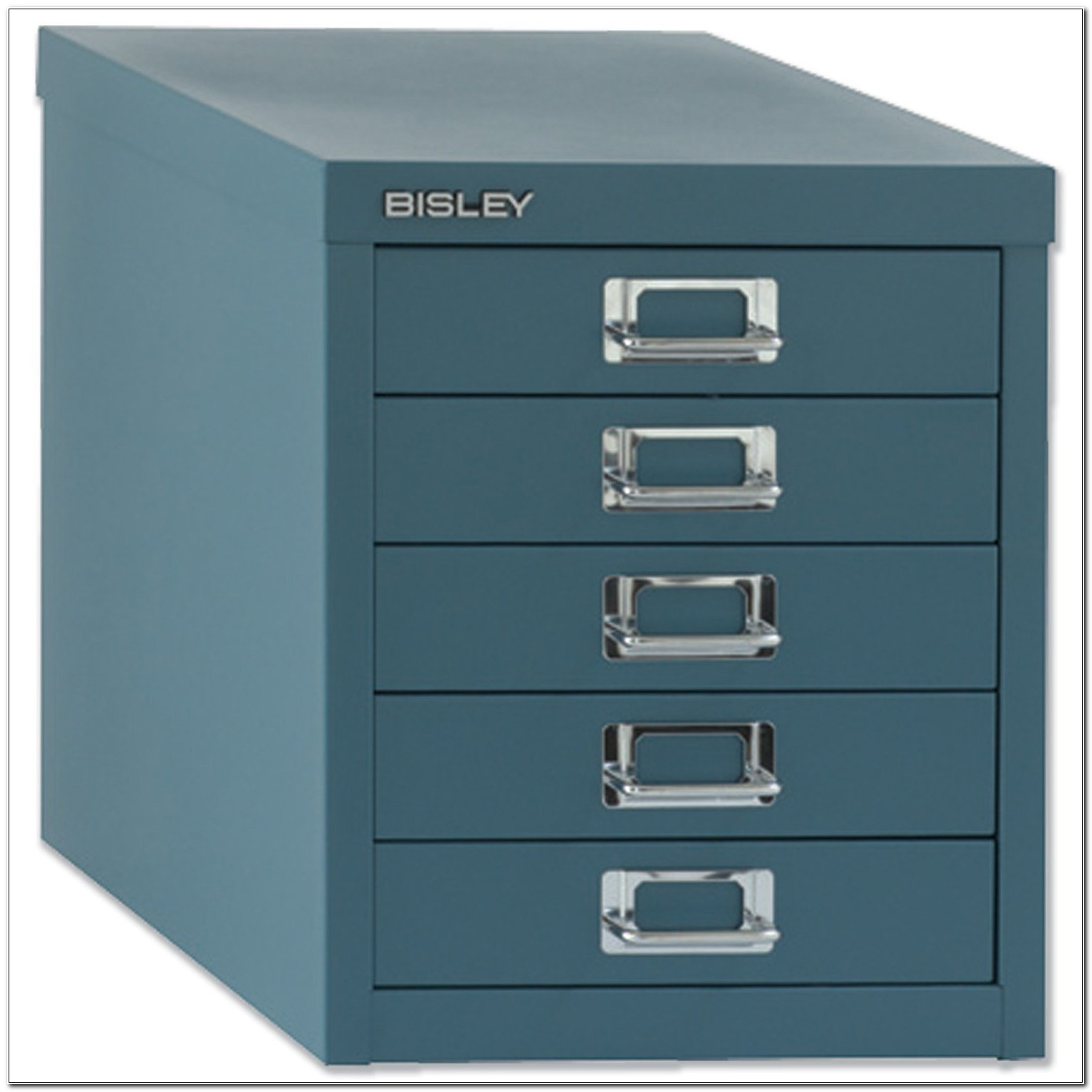 Bisley Steel Storage Cabinet 5 Drawer