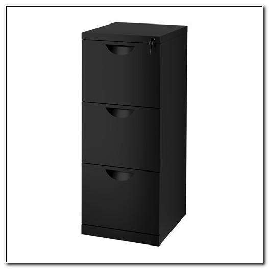 Black Filing Cabinet Ikea