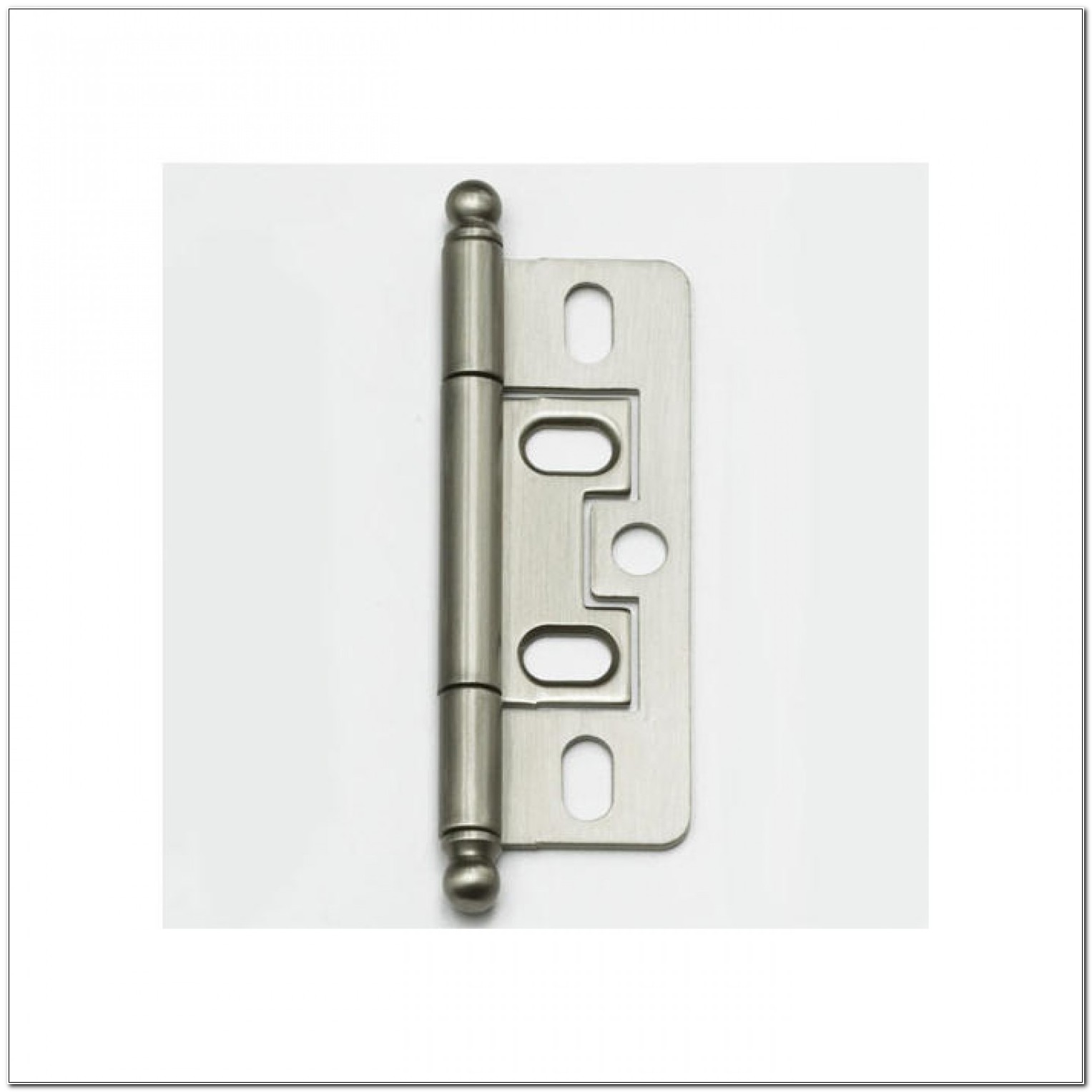 Black Non Mortise Cabinet Hinges