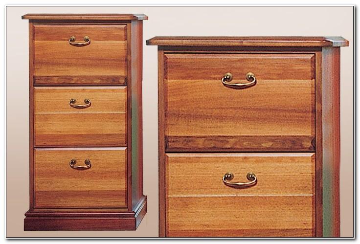 Black Wood Filing Cabinet 3 Drawer