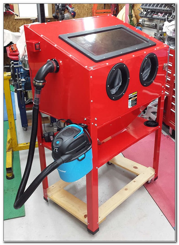 Blast Cabinet Dust Collector Shop Vac